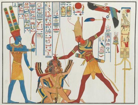 Image credit:  Abu-Simbel-Rameses-smite-Cherubini per ascendingpassage.com