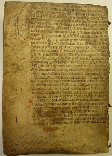 Photo credit:  Legal text, written in a Gothic hand.  Penn Provenance Project's photostream per Creative Commons license.