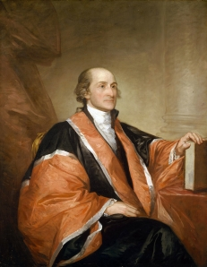 Gilbert Stuart's portrait of John Jay, first Chief Justice of the United States Supreme Court, 1794