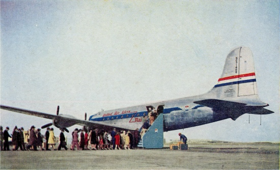 Photo credit: United Airlines circa 1950 by David Wilson per Creative Commons license.