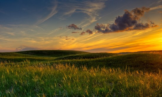 Photo credit:  Stephen G. Weaver, Prairie Sunset Sand Hills, Nebraska