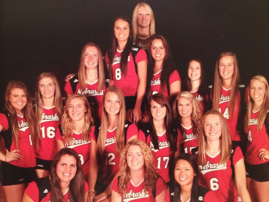 Nebraska Volleyball Team (2013)