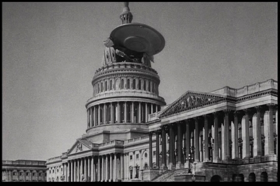 Earth v Flying Saucers, 1950s.  I'm pretty sure I saw this movie. Even then, I think I was rooting for the aliens. For more on this classic, see  http://www.imdb.com/video/screenplay/vi1789133081