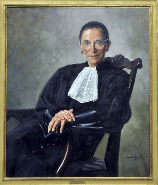 Image credit: Simmie Knox, under commission of the United States Supreme Court