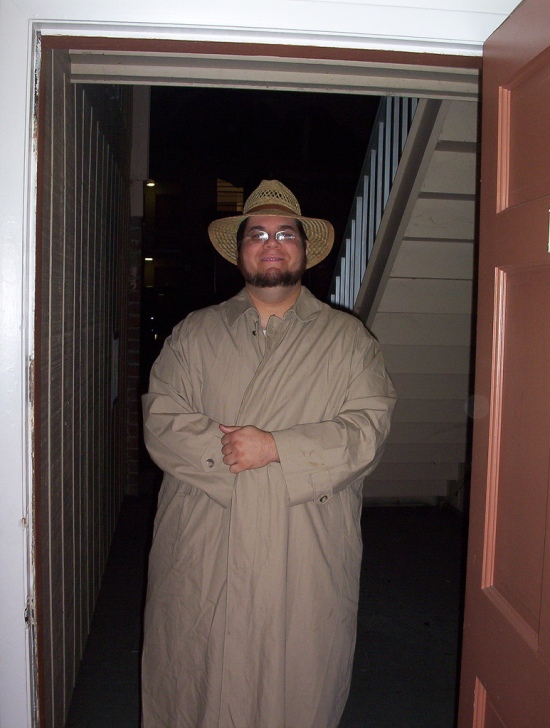 "Photo credit: sylvar. ""The Flasher, with trenchcoat closed"" per Creative Commons Attribution 2.0 Generic license. No changes were made to the photo."