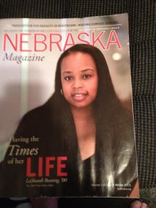 Photo credit: Nebraska Magazine. LaShara Bunting, New York Times Senior Editor