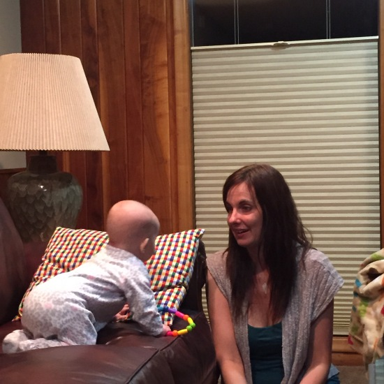 Zora talks to Lisa, seemingly speaking Mandarin.