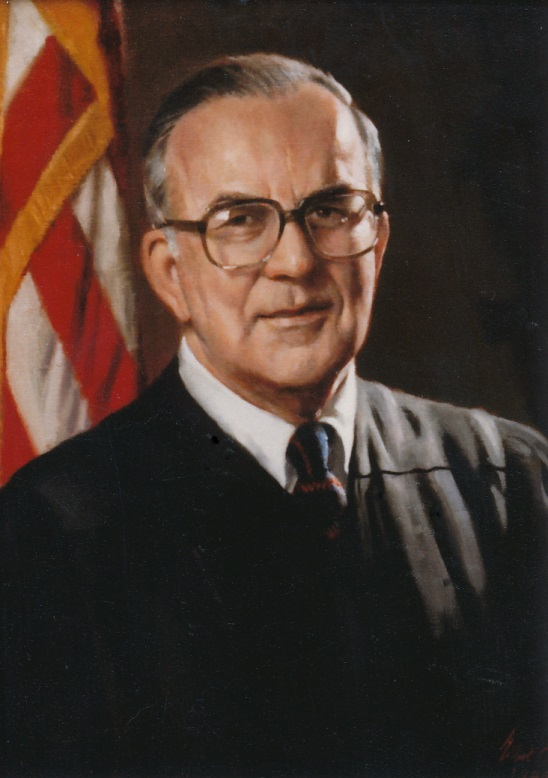 Judge Bright's portrait
