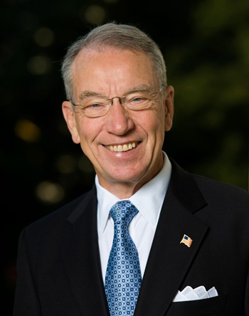 Chairman of the Senate Judiciary Committe, Chuck Grassley